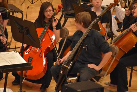 Blake Vitry on electric cello
